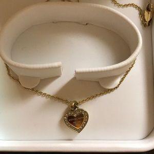 NWOT Michael Kors Gold Necklace